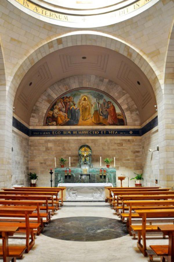Béthanie: sanctuaire de la Résurrection de Lazare