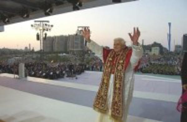 Palabras de Benedicto XVI en el Encuentro Mundial de las Familias