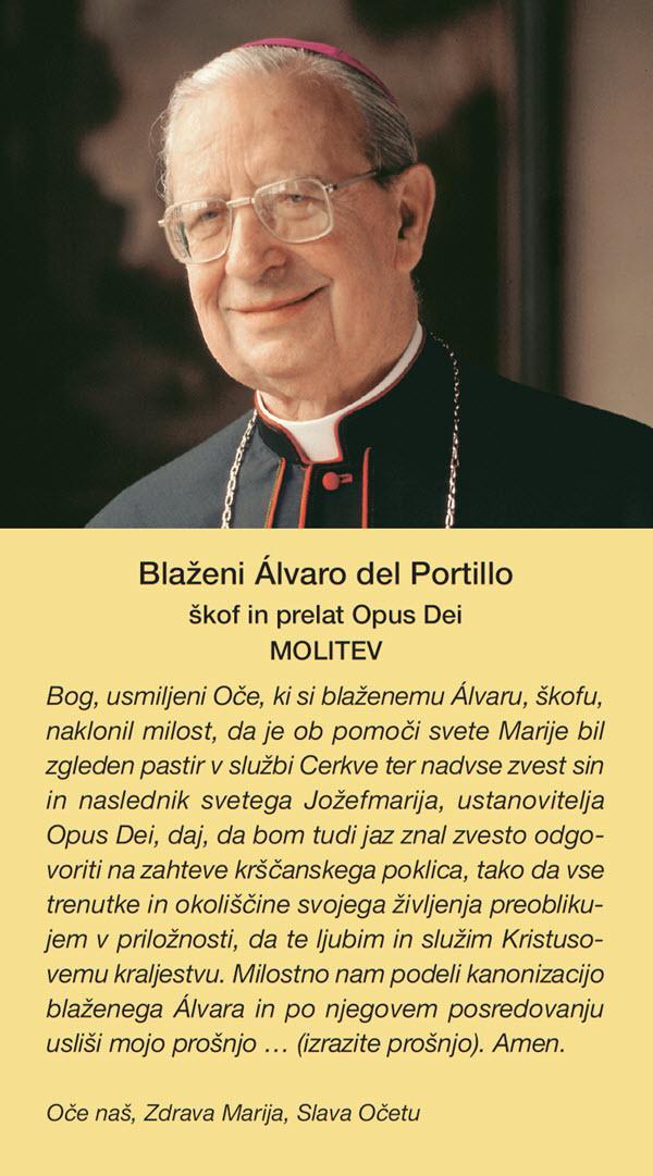 Opus Dei - Molitev k bl. Álvaru