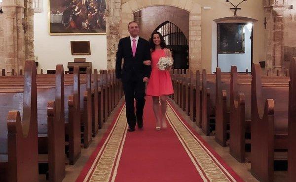 La boda que ganó al coronavirus
