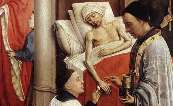 Opus Dei - TEMA 24 (1). Bolniško maziljenje
