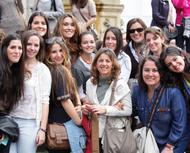 """Les photos du """"Forum UNIV"""", à Rome"""