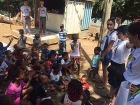 60 universitárias realizam voluntariado em Cabo Verde