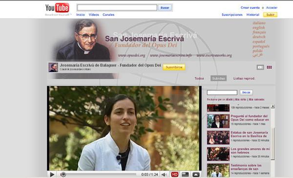 Ein neuer Kanal des hl. Josefmaria auf YouTube