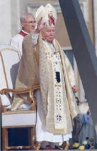 Joan Paulo II.ak Josemaria Escrivaren kanonizazioan egindako homilia.