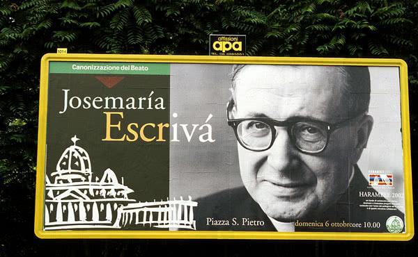 Opus Dei - Cronologia da causa de canonização de Josemaría Escrivá de Balaguer