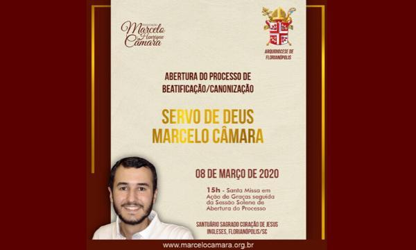 Abertura do processo de canonização de Marcelo Câmara