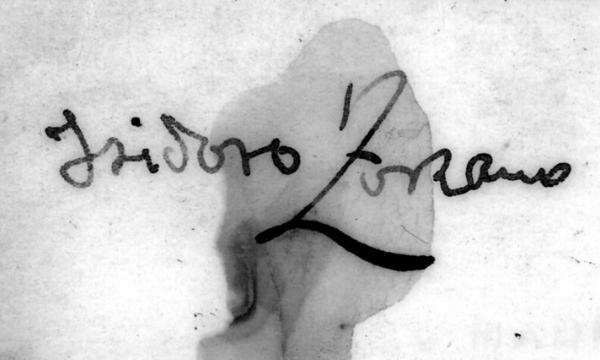 Isidoro Zorzano e o trabalho