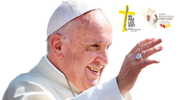 Opus Dei - O Papa Francisco visita o Peru na 23ª viagem apostólica do seu Pontificado