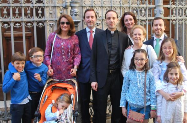 Opus Dei - Novo sacerdote português celebra Missa nova em Lisboa no dia 28 de Janeiro