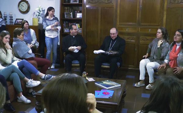 Opus Dei - El Cardenal Sturla visita Del Mar y Del Plata