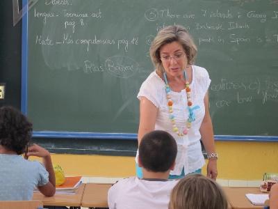 Carmen es profesora en una escuela pública