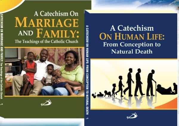 Archbishop Presents Two New Catechisms