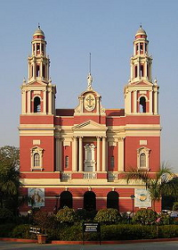 Catedral de Nueva Delhi (India).