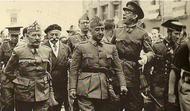Quale atteggiamento ebbe nei confronti dell'azione di Franco durante la guerra?