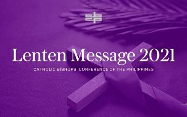 CBCP Lenten Message 2021