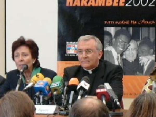 Rueda de prensa con motivo de la canonización de Josemaría Escrivá