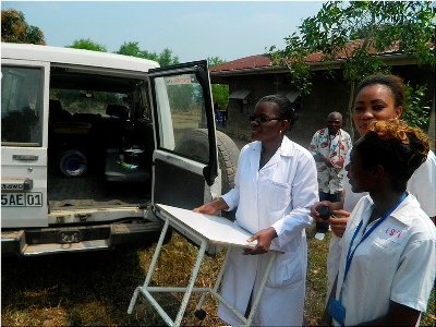 Il dipartimento per la lotta contro l'Aids, nel quale finora sono state assistite 5.000 donne, ha consentito di abbassare di circa il 25% i casi di contagio a Kindele, un quartiere della capitale.
