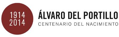 Logo de las actividades del centenario de don Álvaro.