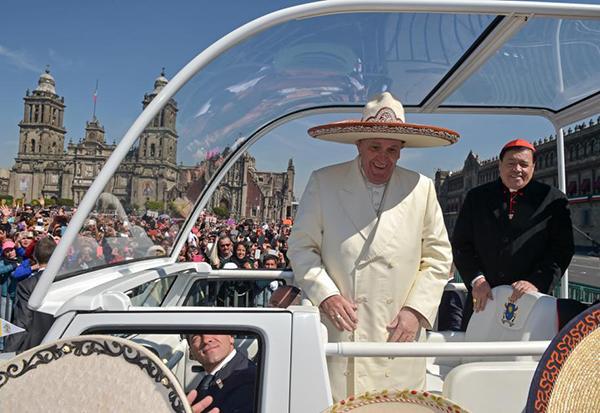 50 frases del Papa Francisco en México