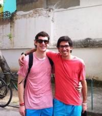 Joaquín e Juan Pablo são chilenos