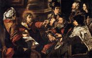 Jesus with Doctors of the Law: Magisterium, Saints, Poets