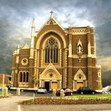Facade of St Mary Star of the Sea West Melbourne