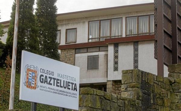Comunicado de prensa sobre el Colegio Gaztelueta