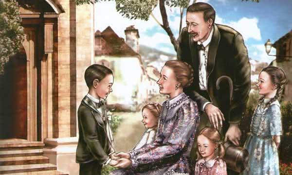 Opus Dei - A Primeira Comunhão de São Josemaria - para crianças
