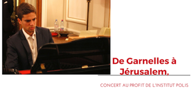 Concert à Garnelles pour l'institut Polis, à Jérusalem