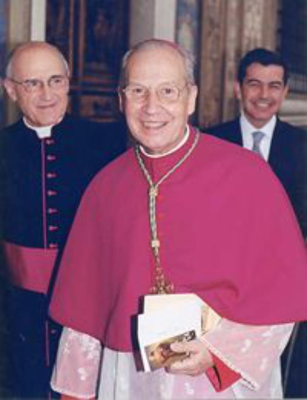 Statement from Opus Dei's prelate about the canonization