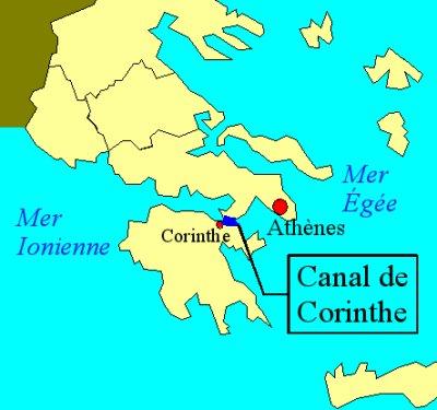 HISTOIRE ABRÉGÉE DE L'ÉGLISE - PAR M. LHOMOND – France - année 1818 (avec images et cartes) Corinthe_plan