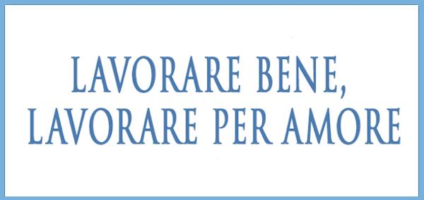 """Opus Dei - Ebook: """"Lavorare bene, lavorare per amore"""""""
