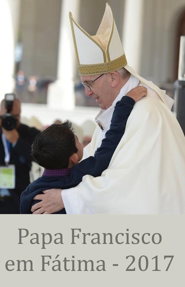 """Opus Dei - Livro eletrónico """"Papa Francisco em Fátima"""""""