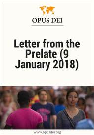 Letter from the Prelate (9 January 2018)