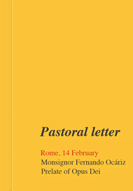 Letter from the Prelate (14 February 2017)