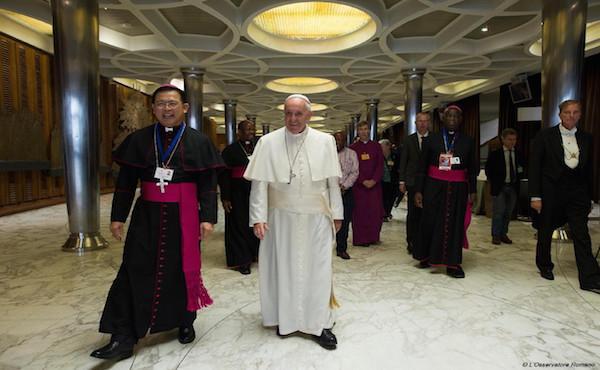 Opus Dei - Papa Francesco durante il Sinodo