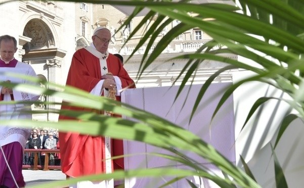 Opus Dei - Palm Sunday Homily of Pope Francis