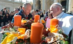 Paus Franciscus: De Mis betekent naar Calvarië gaan