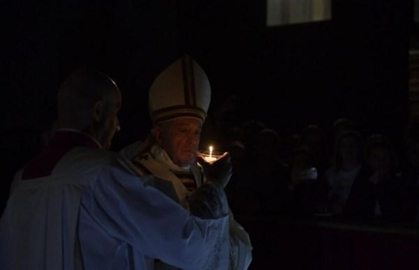 Opus Dei - Homily of Pope Francis at Easter Vigil