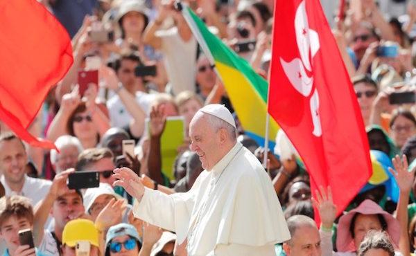 Opus Dei - 教宗公开接见:做基督的见证人,克服自我封闭
