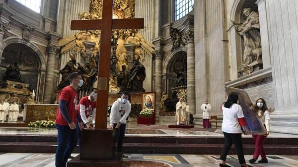 Opus Dei - Przekazanie Krzyża ŚDM (22.11.2020)