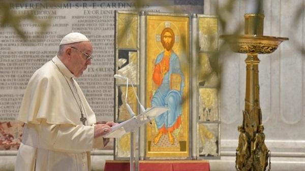Wielkanocne orędzie Papieża Franciszka