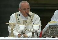 """""""Nós somos ovelhas e temos necessidade do pastor que nos ajude"""", o Papa na Missa Crismal"""