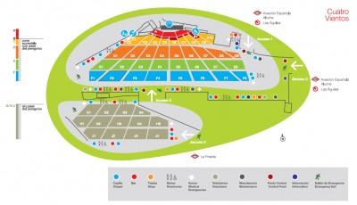 El espacio del aeródromo de Cuatro Vientos, en el que se celebrarán los actos más multitudinarios de la JMJ, equivale a 48 campos de fútbol