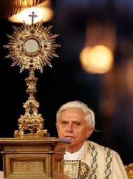 Die Eucharistie - der verborgene Gott