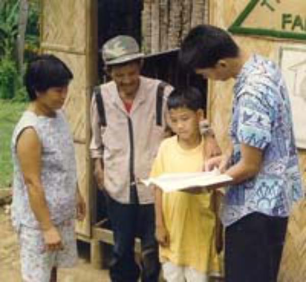 Dagatan : Une école familiale agricole aux Philippines