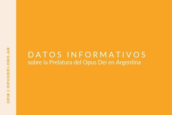 Opus Dei - Datos informativos sobre el Opus Dei en Argentina