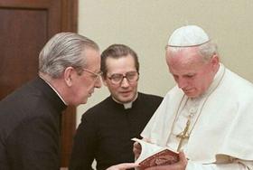 Św. Jan Paweł II i bł. Álvaro del Portillo -  szczegóły serdecznej przyjaźni (cz. II)