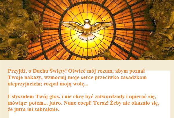 Opus Dei - Decenarium do Ducha Świętego